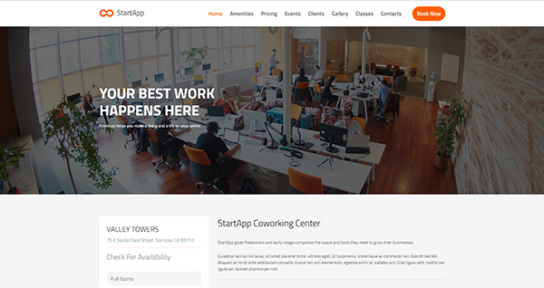Coworking Demo